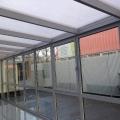 Alumínium télikert bukó-nyíló ablakkal