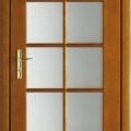 Beltéri ajtók üvegesen