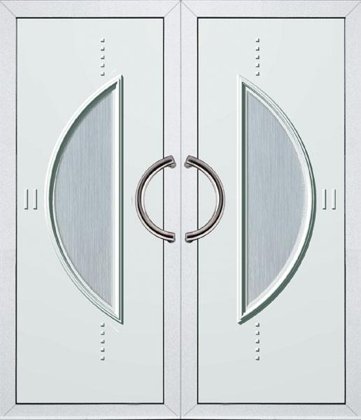 Bejárati ajtó kétszárnyú
