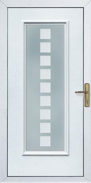 Bejárati ajtó kivitelezése