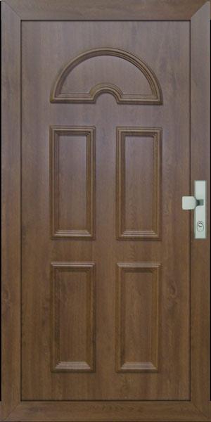 Bejárati ajtó színes