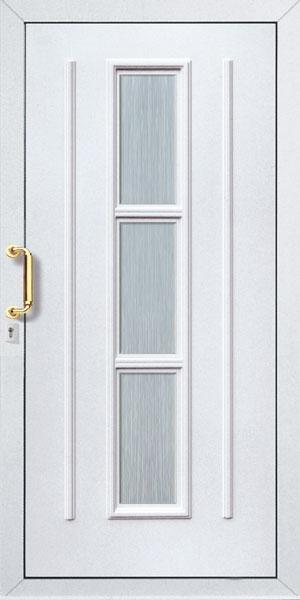 Bejárati ajtók formák
