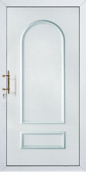 Bejárati ajtók tele panellal