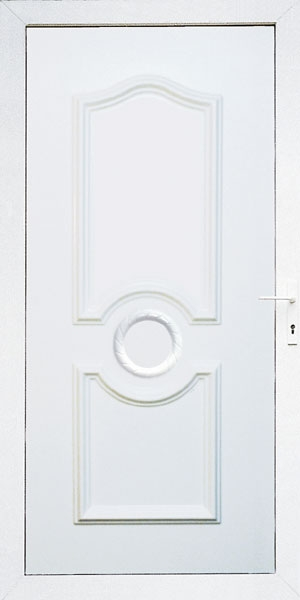 Bejárati ajtók tömör