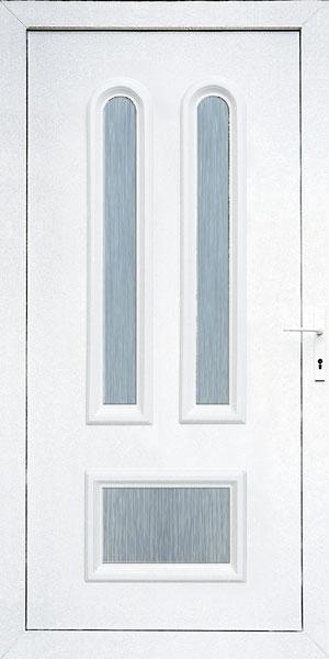 Bejárati ajtók üveges kivitelű