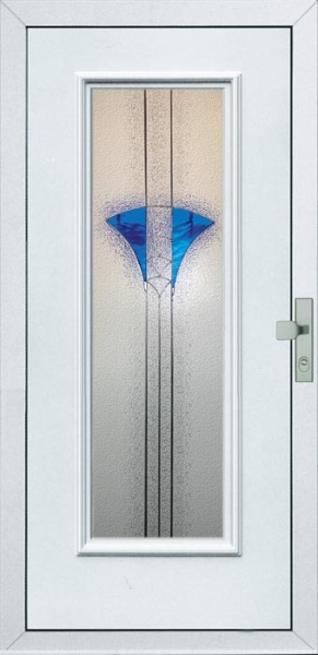 Egyszárnyú bejárati ajtó