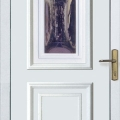 Bejárati ajtók díszüveges