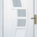 Üveges díszpaneles ajtó