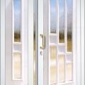 Üveges kétszárnyú ajtók