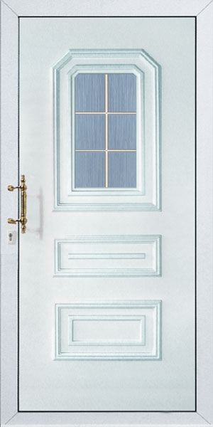 Üveges bejárati ajtó