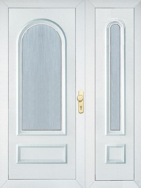 Üveges kétszárnyú ajtó