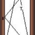 Bukó-nyíló erkélyajtó
