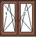 Bukónyíló +bukónyíló tokosztós ablak