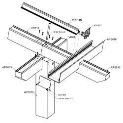 Alumínium pergola rendszer