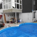 télikert medencével