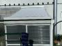Télikert tető árnyékolás redőnnyel