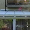 Télikert tető árnyékolása csőmotoros redőnnyel