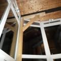 Terasz beépítés motoros távnyitós ablakkal