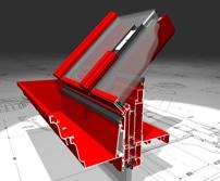 alumínium télikert és tető szerkezet