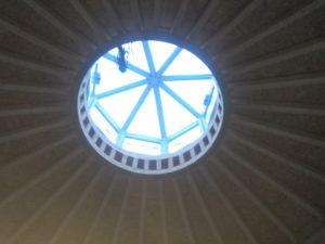 előtér kupolája