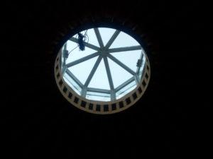 kupola bevilágító