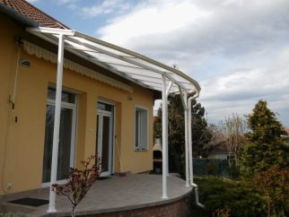 Elő tető beépítés